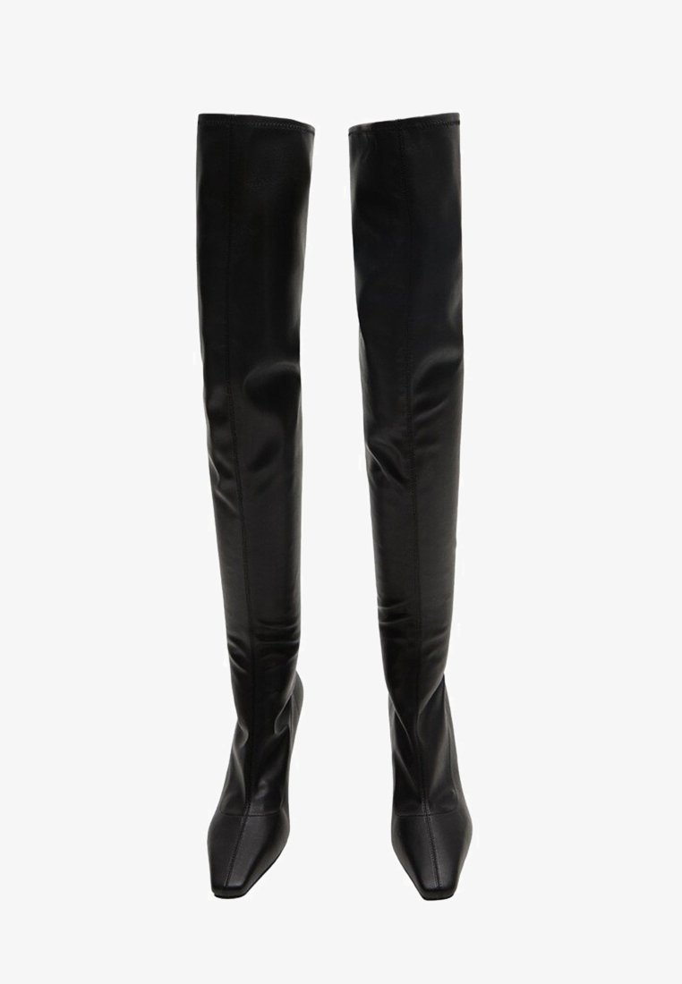 Mango - LAURA - Over-the-knee boots - black