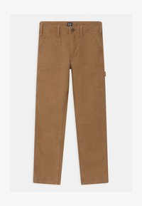 GAP - BOYS - Kangashousut - earthy brown - 0