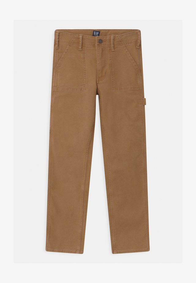 BOYS - Trousers - earthy brown