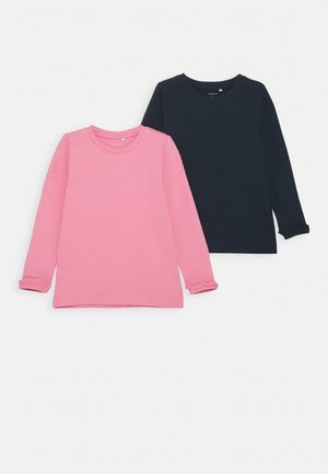 NMFNADAGMAR 2 PACK - Long sleeved top - wild rose
