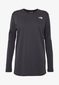 The North Face - WOMENS SIMPLE DOME TEE - Bluzka z długim rękawem - asphalt grey - 3
