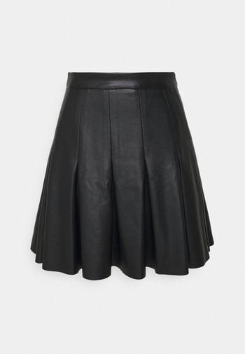 DARTED MINI SKIRT