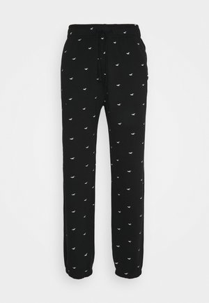 MATCHBACK BOTTOM - Pyjama bottoms - black