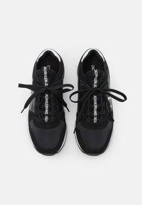 Calvin Klein Jeans - RUNNER SOCK LACEUP  - Trainers - black - 5