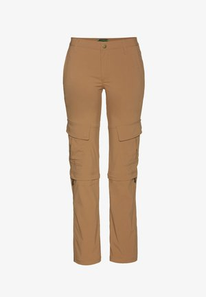 MADDY - Outdoor trousers - tobaco