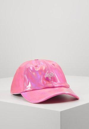 CAP - PINK HOLO DAD - Kšiltovka - pink