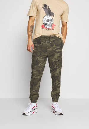 JOGGER - Cargo trousers - green