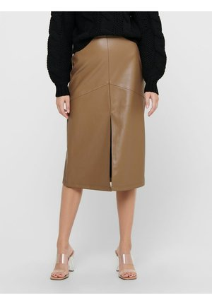 Pencil skirt - warm sand