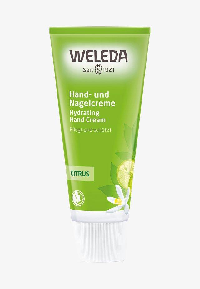 CITRUS HYDRATING HAND CREAM - Crème mains - -