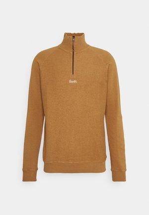 CREEK HALF ZIP  - Sweater - camel