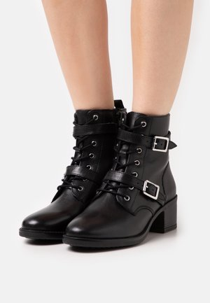 PAXTONE - Lace-up ankle boots - black