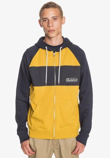 ESSENTIALS  - Zip-up sweatshirt - honey