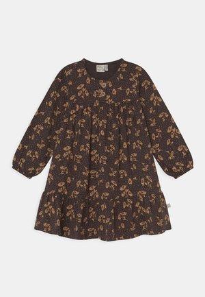 ENCHANTED FLOWERS DRESS - Jersey dress - deep brown