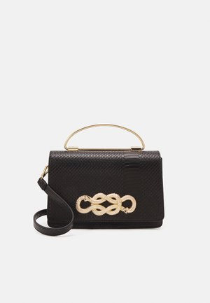 SPRIMONT - Handbag - jet black/gold-coloured