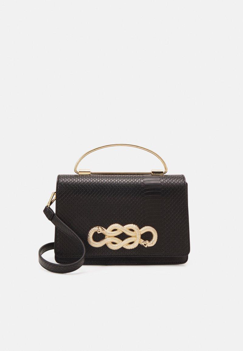 ALDO - SPRIMONT - Handbag - jet black/gold-coloured