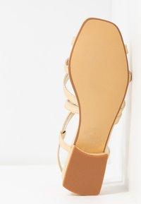 Head over Heels by Dune - JAIDAN - Sandals - gold metallic - 6