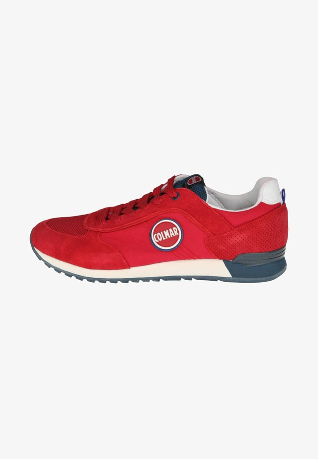 TRAVIS - Trainers - red/blue