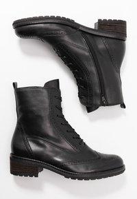 Gabor - Šněrovací kotníkové boty - schwarz - 3