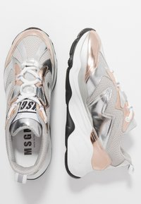 MSGM - SCARPA DONNA WOMANS SHOES - Tenisky - silver - 3