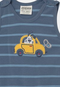 Jacky Baby - HAPPY CAR FRIENDS SET - Long sleeved top - blue/white - 2