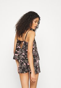 Marks & Spencer London - FLORAL CAMI - Pyjamas - black mix - 2