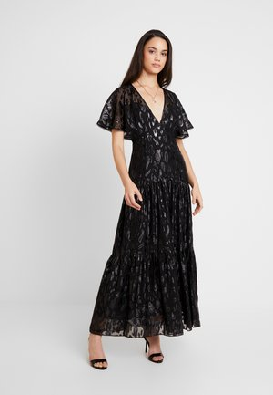 ESTER FLUTTER SLEEVE DRESS - Occasion wear - black