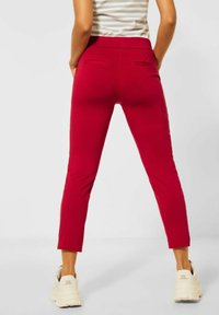 Street One - Trousers - rot - 1