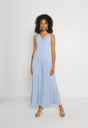 LINDA PLEATED - Jumpsuit - cornflour blue