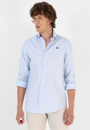 Shirt - blue stripes