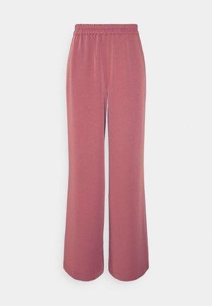 FLOWY FIT PANTS - Kalhoty - dusty pink