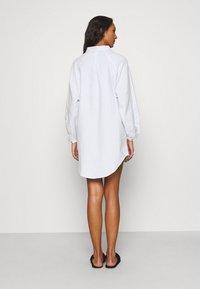 Cotton On Body - WARM SLEEP SHIRT  - Chemise de nuit / Nuisette - blue/white - 2