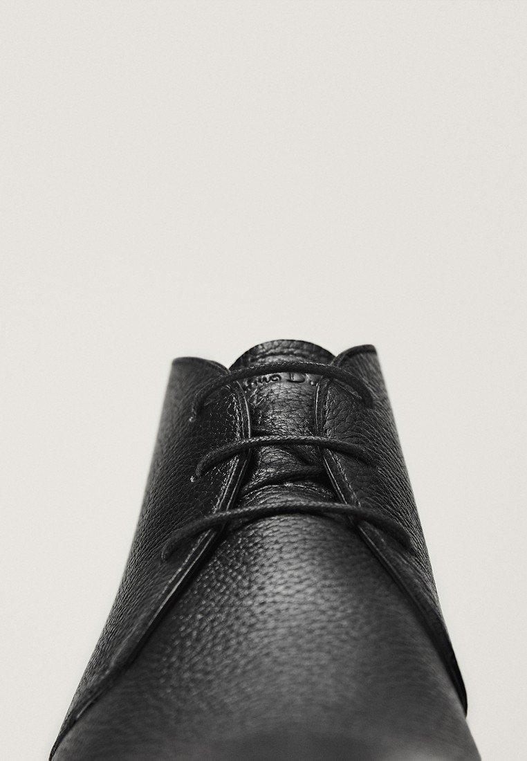 Massimo Dutti Eleganta snörskor - black/svart - Herrskor q21Cz