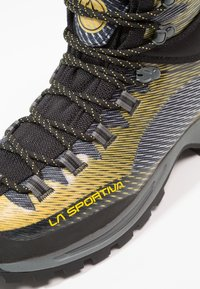 La Sportiva - TRANGO TRK GTX - Hiking shoes - yellow/black - 5
