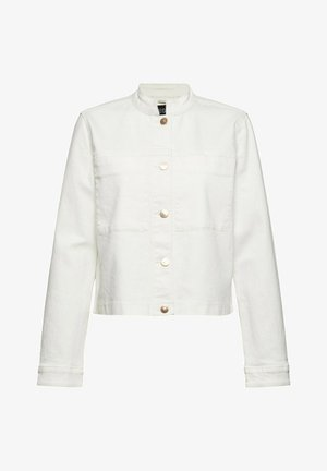 Denim jacket - off white