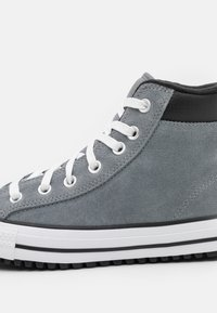 Converse - CHUCK TAYLOR ALL STAR UNISEX - High-top trainers - limestone grey/white/black - 5