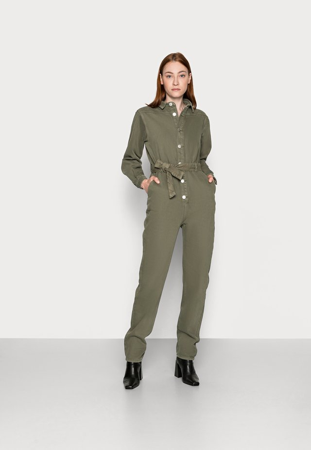 Jumpsuit - khaki wash