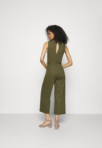 Anna Field - Belted sleeveless wide legs jumpsuit - Overall / Jumpsuit - green - 2