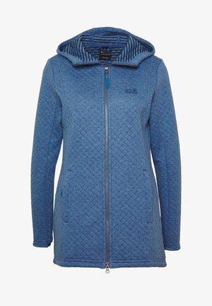 MILA HOODED JACKET  - Zip-up hoodie - ocean wave