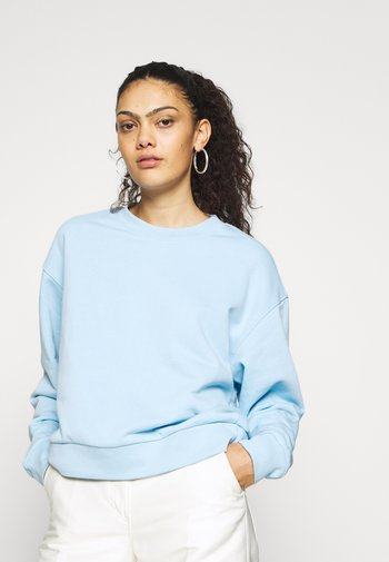 HUGE CROPPED - Sweatshirt - light blue