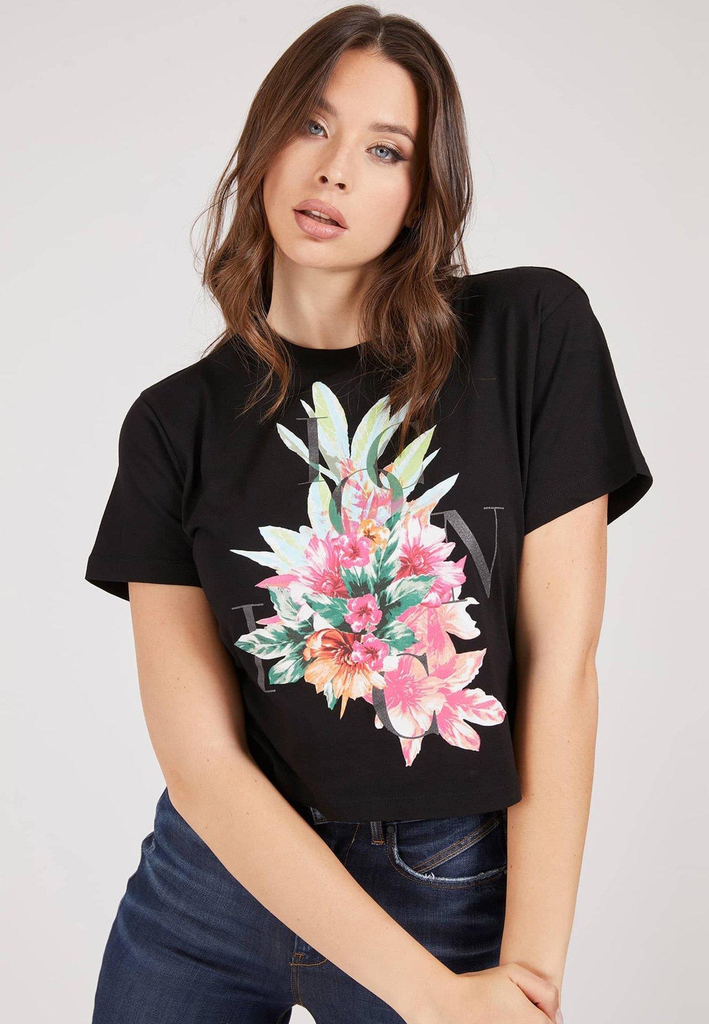 Damen CROPPED LOGO ICON - T-Shirt print