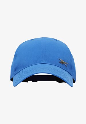 ACTIVE FOUNDATION BADGE CAP - Cap - blue