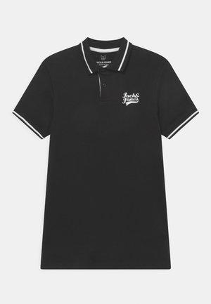 JJEJERSEY LOGO JR - Poloshirt - black