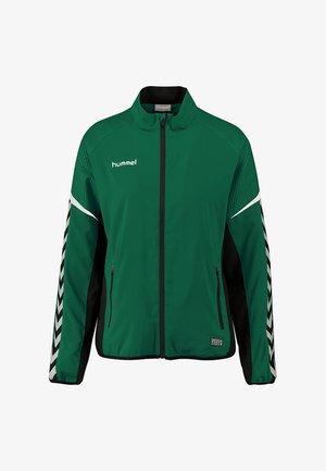 CHARGE MICRO ZIP - Training jacket - evergreen
