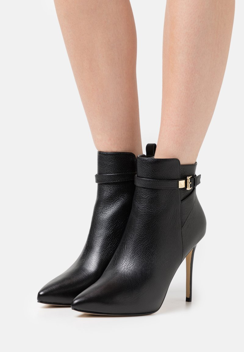 MICHAEL Michael Kors - FANNING BOOTIE - High heeled ankle boots - black
