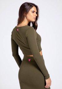 Guess - Long sleeved top - grün - 2