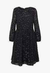 J.CREW - LANA LEOPARD DRESS - Koktejlové šaty/ šaty na párty - black - 3