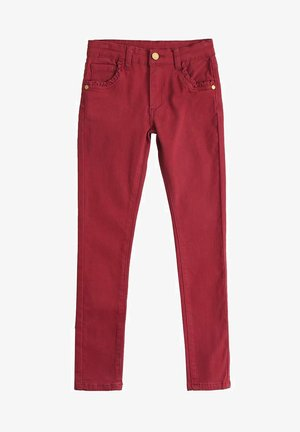 Jeans slim fit - rojo