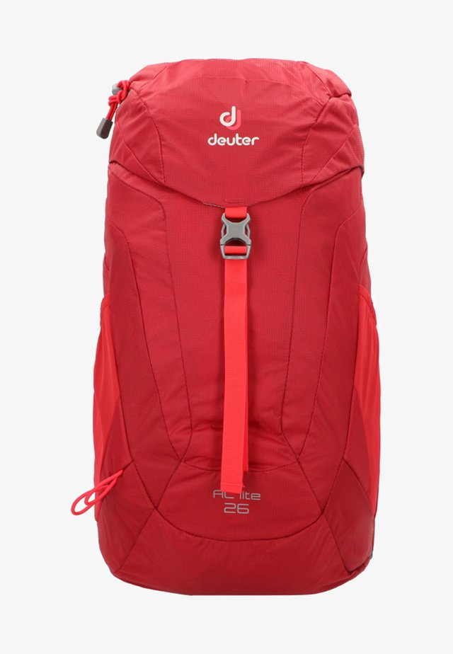 AC LITE - Hiking rucksack - cranberry