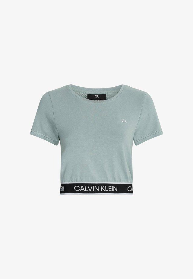 T-shirt print - blushing green