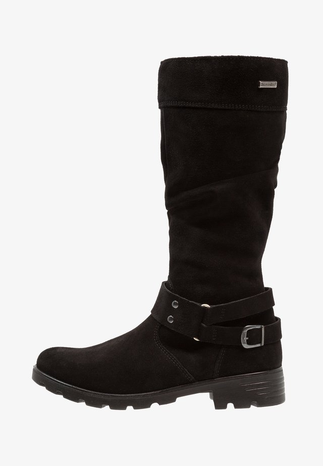 RIANA - Cowboy/Biker boots - schwarz